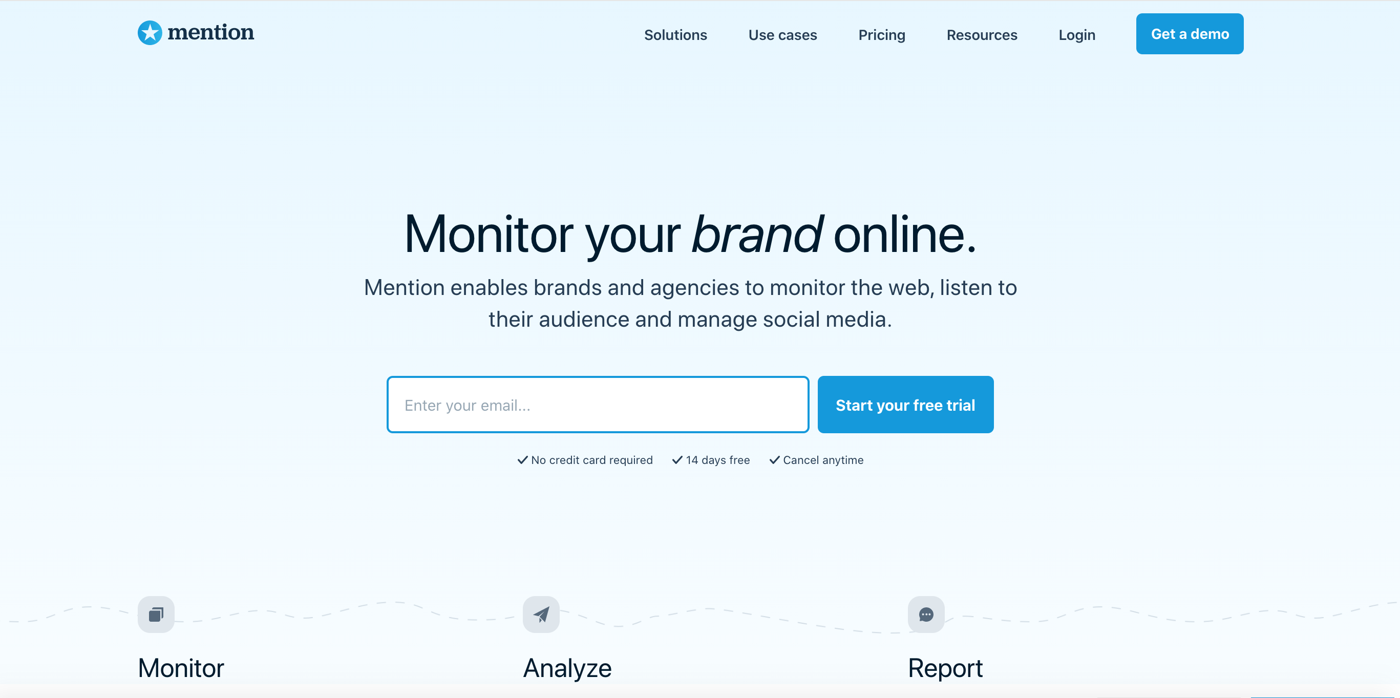 mention - mentioning tool