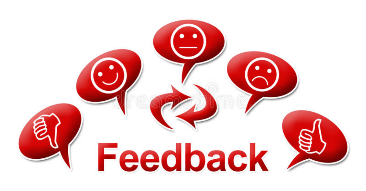 Offering feedback online for money