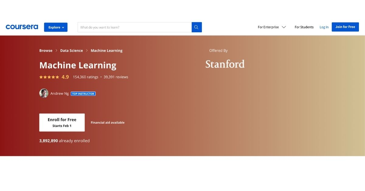 Stanford Universitys Machine Learning Certification