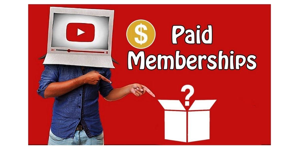 Youtube paid membership