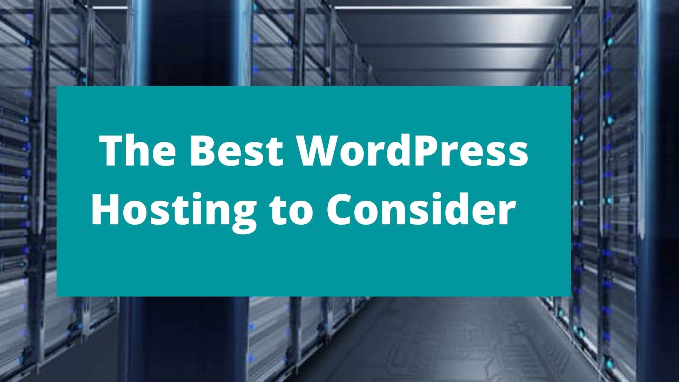 Best wordpress hosting service