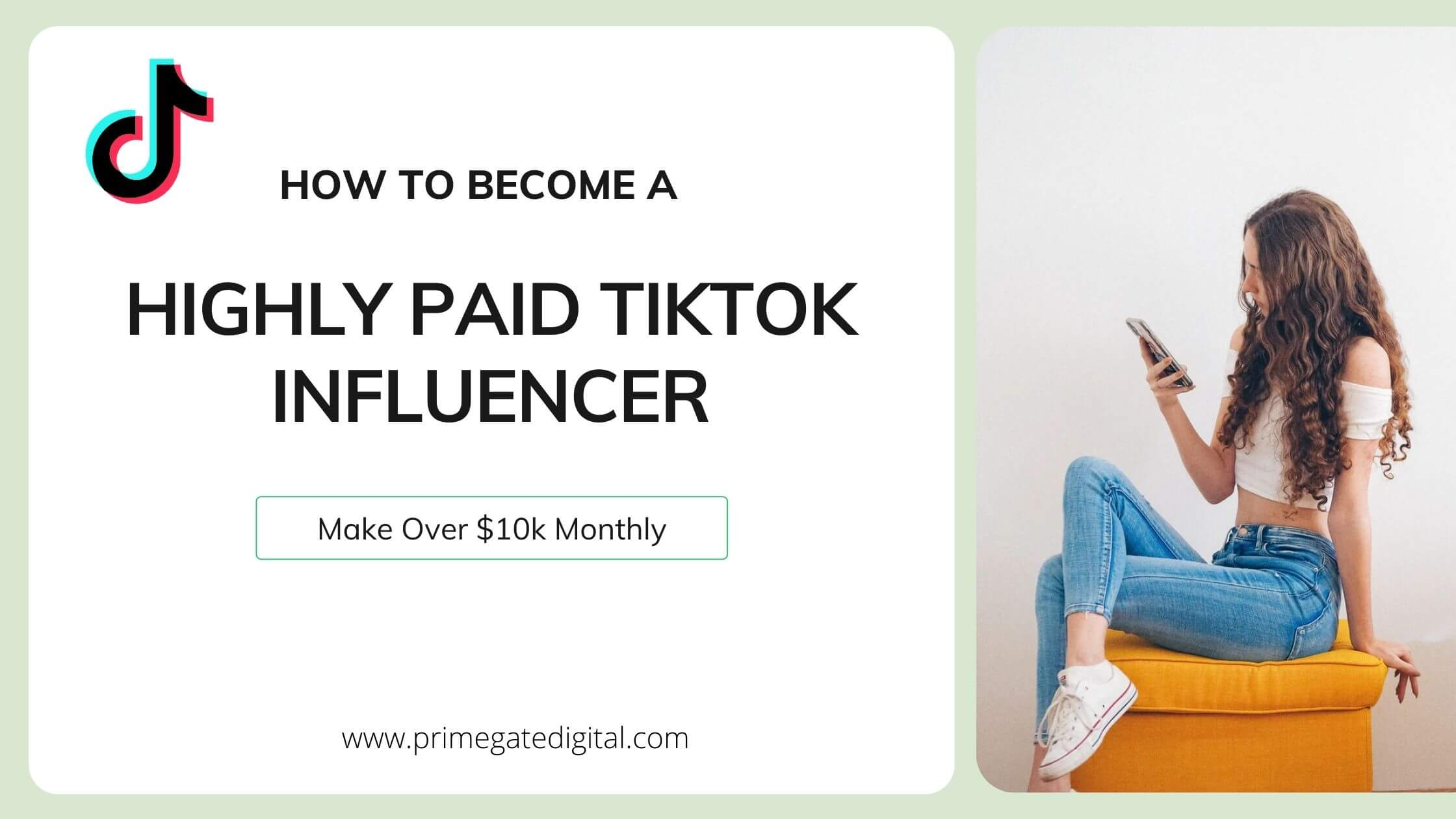 How to become a TikTok Influencer