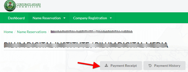 CAC-Business-Name-Reservation-Payment-Reciept