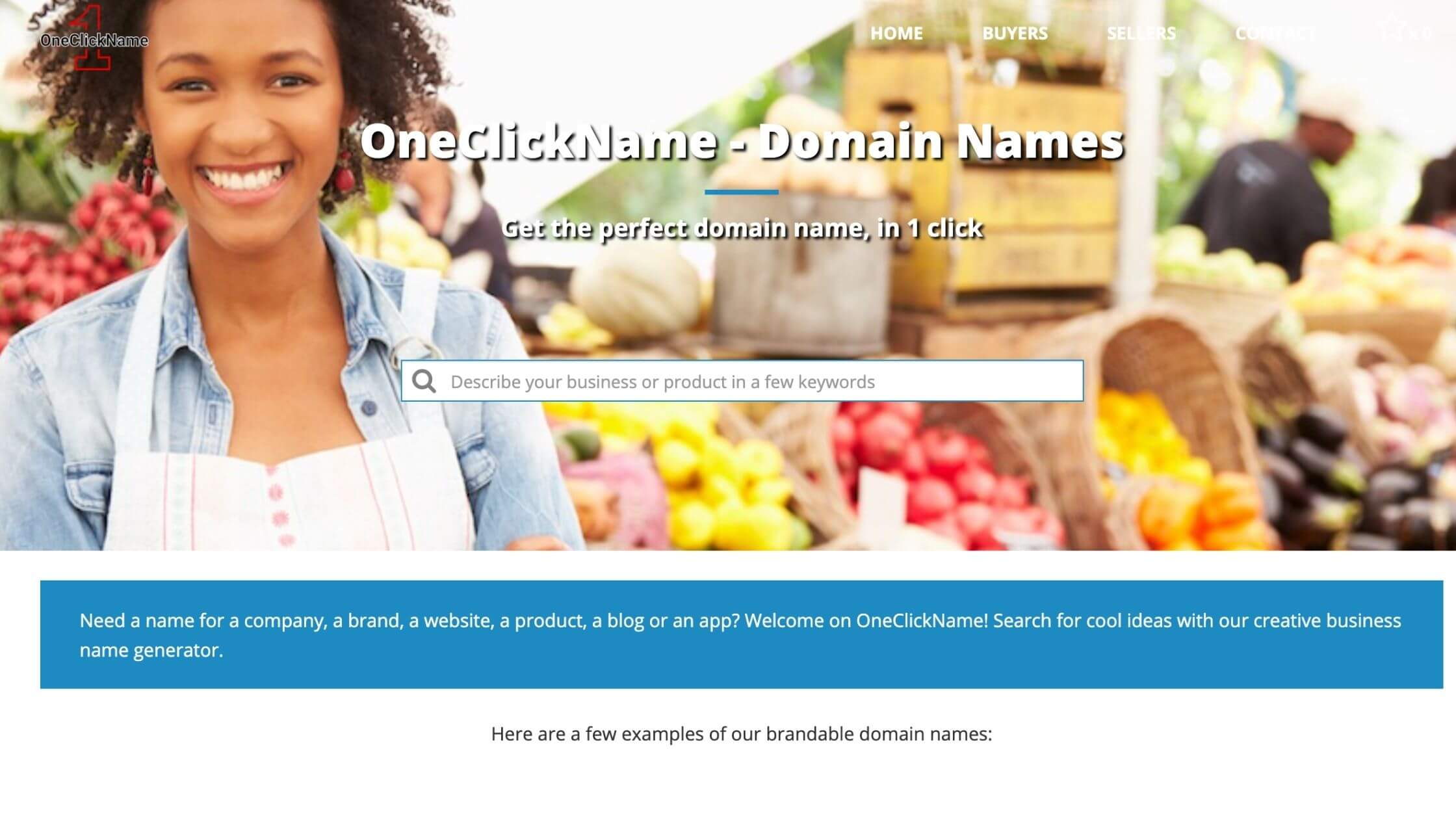 One click name